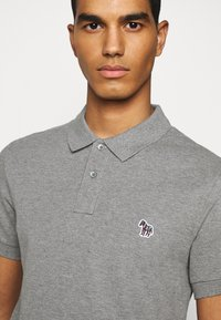 PS Paul Smith - MENS SLIM FIT - Poloshirts - mottled grey - 4