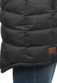 Blendshe - STEPPMANTEL CARLOTTA - Winter coat - metallic grey - 5