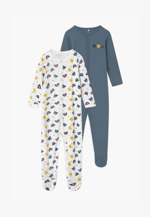 NBMNIGHT BEAR 2 PACK UNISEX - Grenouillère - china blue