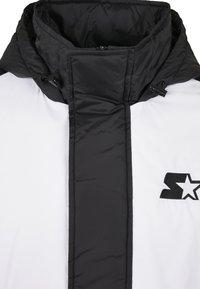Starter - Outdoor jacket - blk/wht/starter red/golden - 7