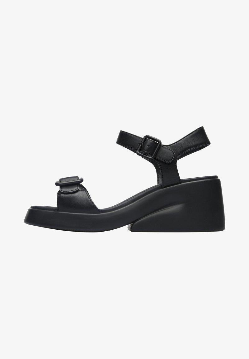 Camper - KAAH - Sandaalit nilkkaremmillä - schwarz