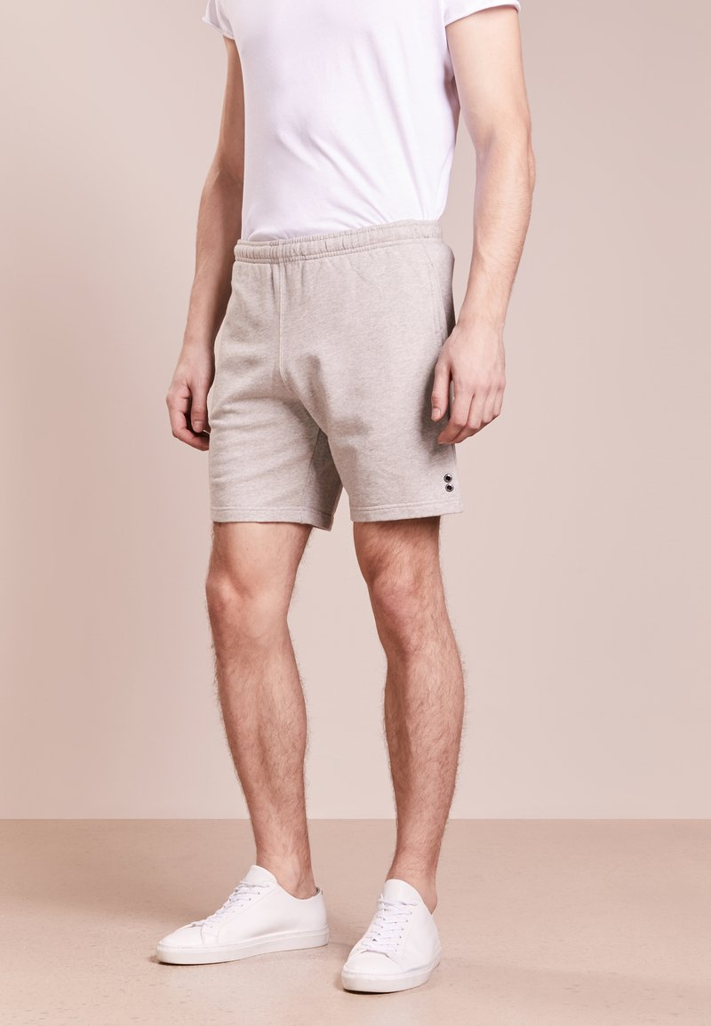 Ron Dorff - EYELET EDITION  - Pantalones deportivos - grey melange