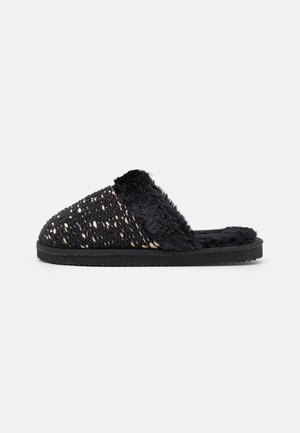 SLIP BONNY - Pantoffels - black