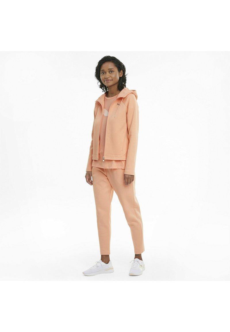 Puma - Zip-up hoodie - apricot blush