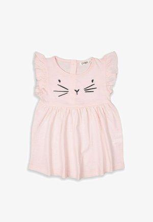 CAT  - Vestito di maglina - light pink