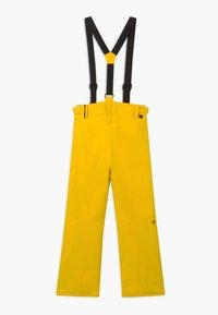 Brunotti - FOOTSTRAP BOYS - Zimní kalhoty - cyber yellow - 1