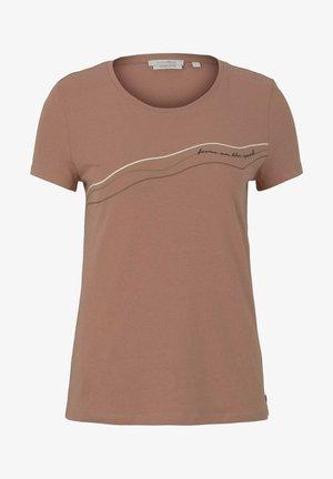 T-shirt imprimé - clay rose