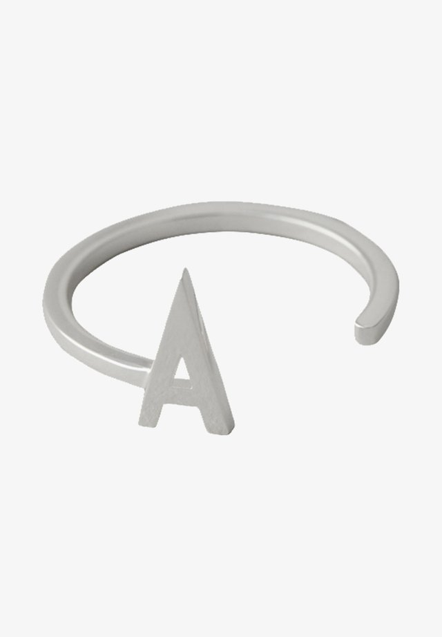 RING A - Ringe - silver