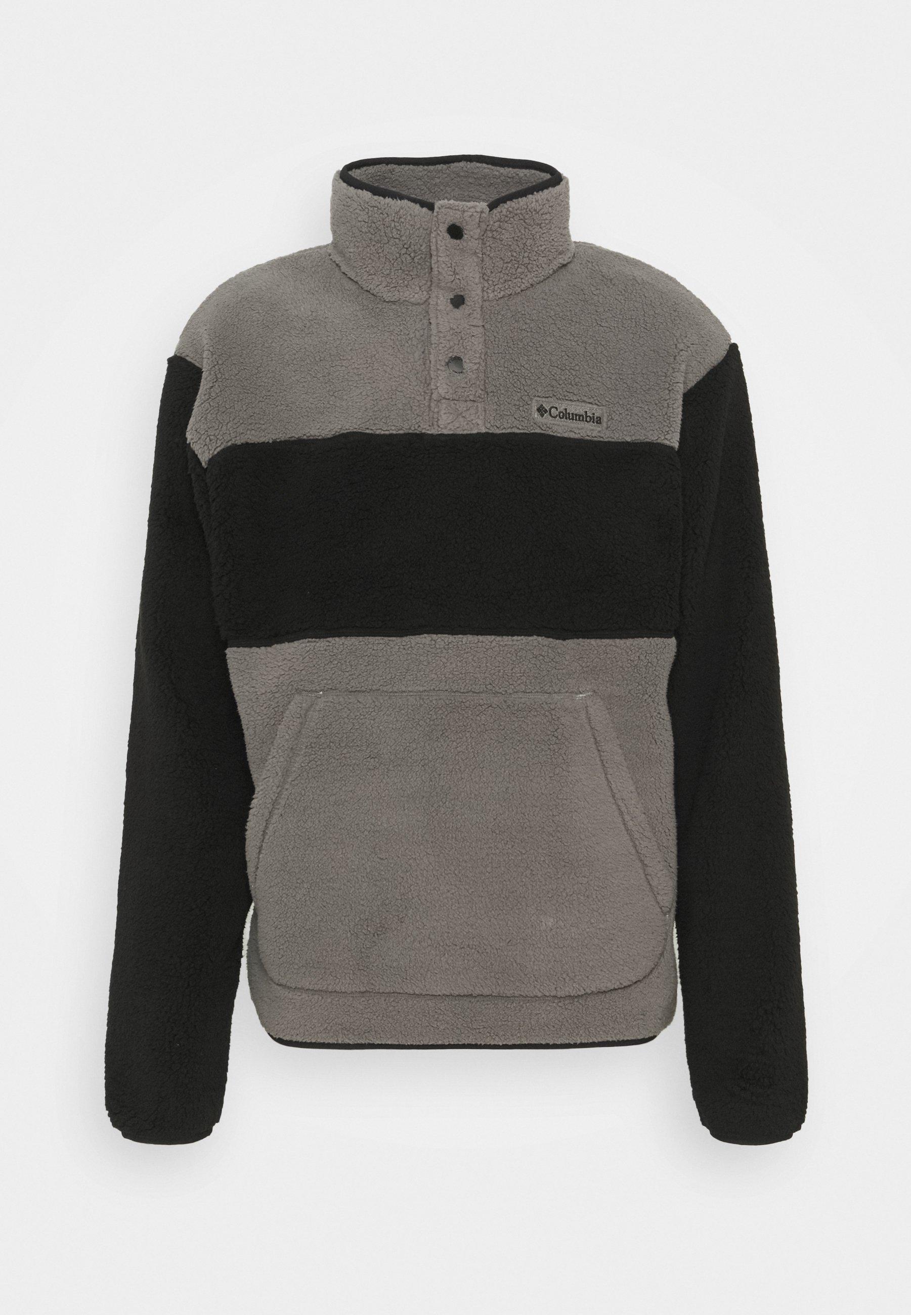 Men RUGGED RIDGE SHERPA SNAP - Fleece jumper