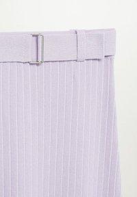 Mango - KATYA - A-line skirt - lys/pastell lilla - 7