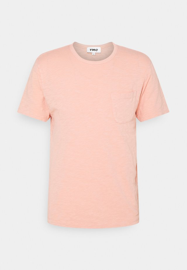 WILD ONES POCKET - Basic T-shirt - pink