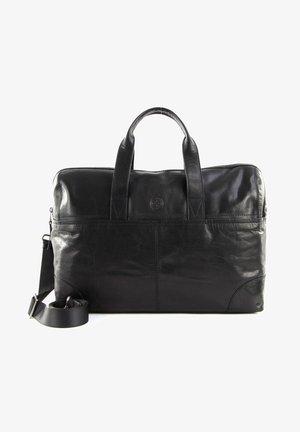 LEO - Weekend bag - black