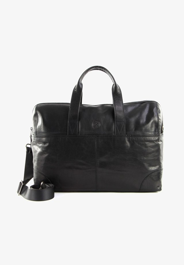 LEO - Weekend bag - black