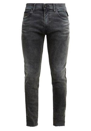 JONDRILL MAESTRO - Slim fit jeans - black denim
