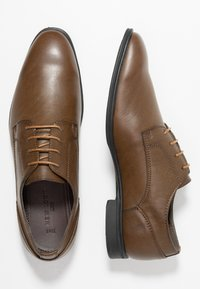 New Look - PLAIN FORMAL - Smart lace-ups - mid brown - 1