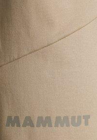 Mammut - CAMIE PANTS MEN - Kalhoty - safari - 4