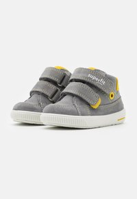 Superfit - MOPPY - Touch-strap shoes - grau/gelb - 1