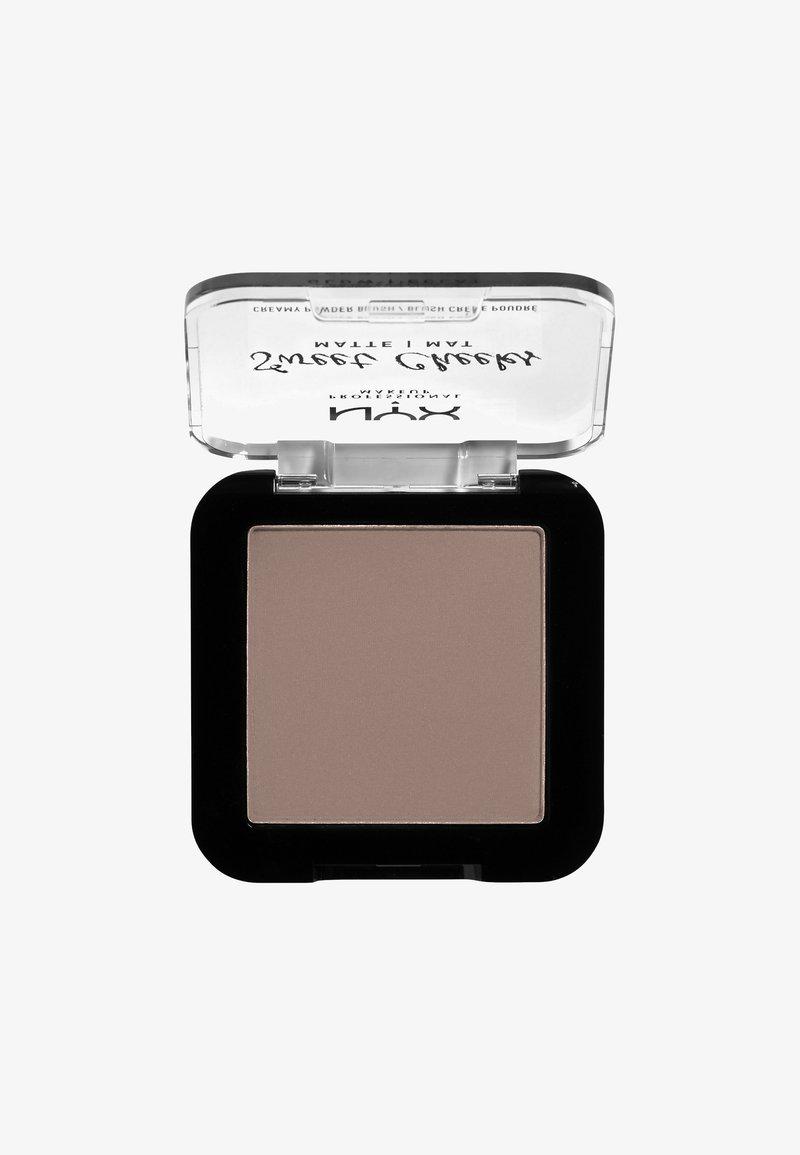 Nyx Professional Makeup - SWEET CHEEKS CREAMY POWDER BLUSH MATTE - Blusher - 09 so taupe