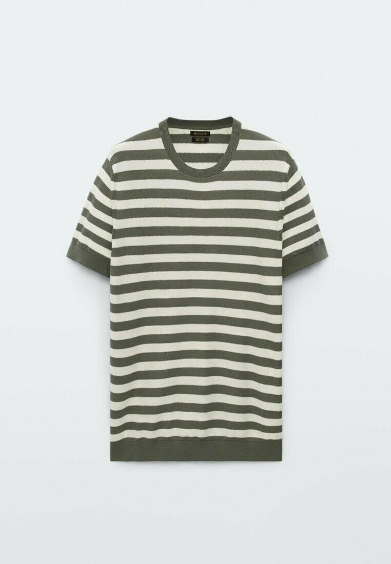 Herren GESTREIFTES  - T-Shirt print