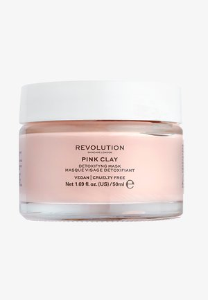 PINK CLAY DETOXIFYING FACE MASK - Masque visage - -