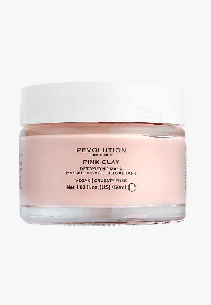 Revolution Skincare - PINK CLAY DETOXIFYING FACE MASK - Face mask - -