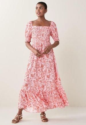 SHIRRED - Maxi dress - multi-coloured