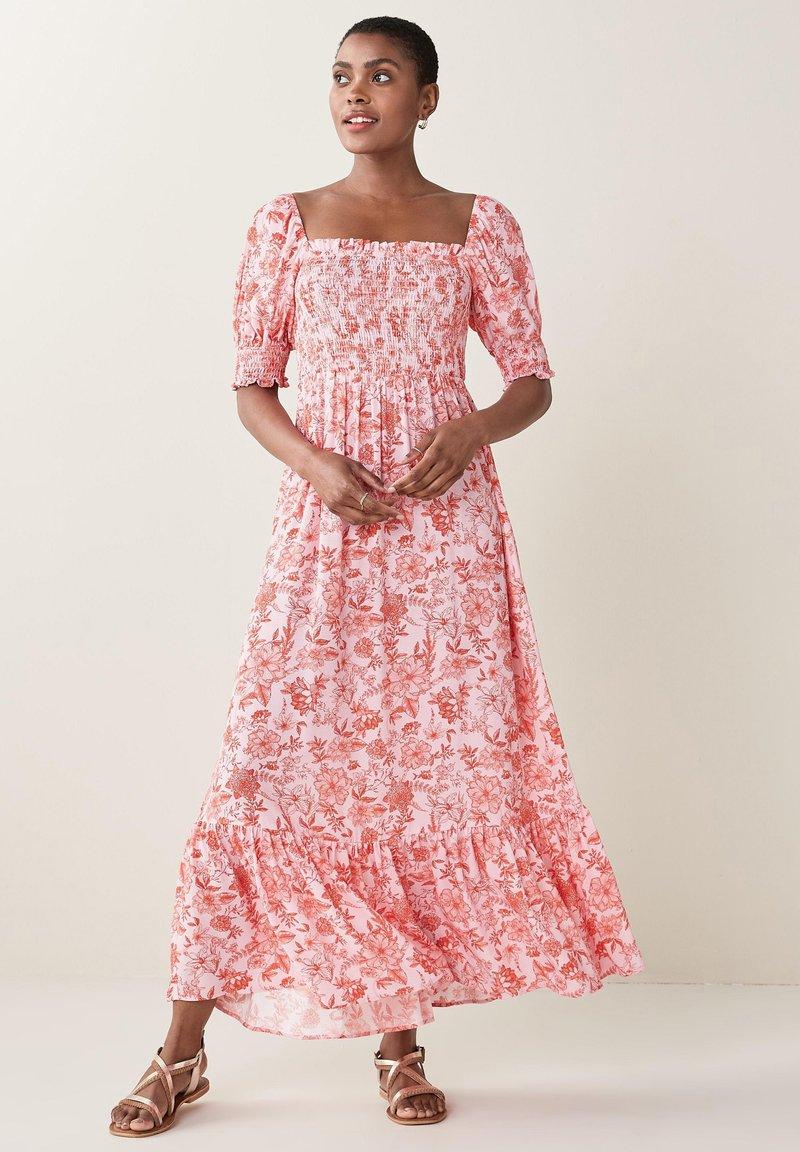 Next - SHIRRED - Maxi dress - multi-coloured