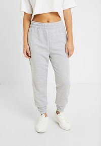 Missguided Petite - BASIC JOGGERS 2 PACK - Tracksuit bottoms - black/grey - 1