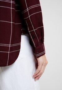 Great Plains London - AGNES CHECK - Košile - cabernet combo - 4