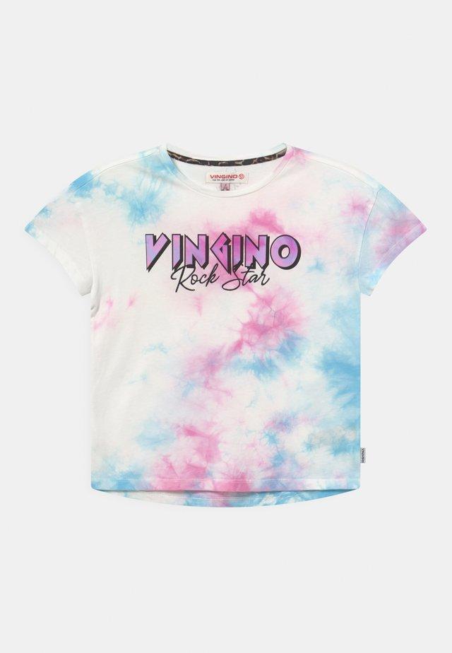 HENNA - Print T-shirt - soft pink