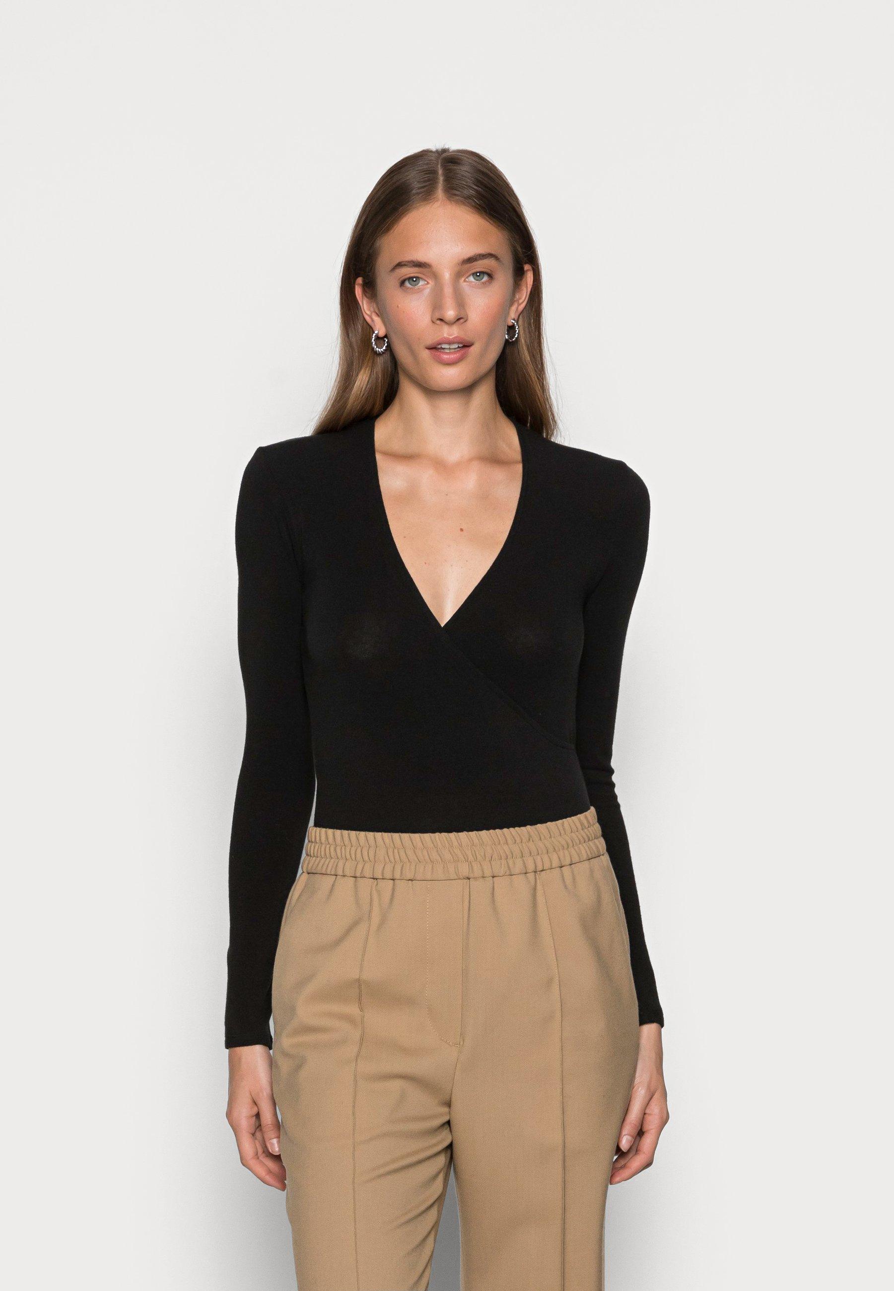 Women WRAP - Long sleeved top