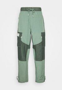 Jordan - PANT - Trousers - spiral sage/white - 5
