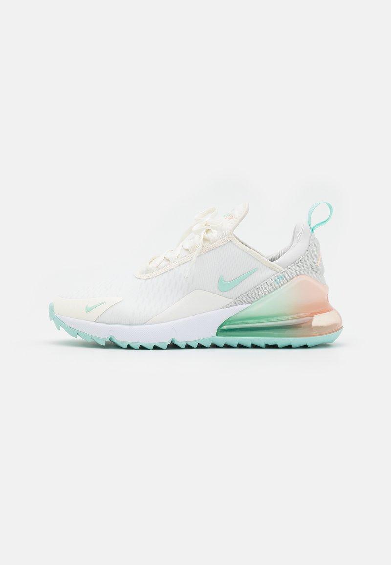Nike Golf - AIR MAX 270 G - Chaussures de golf - sail/light dew/crimson tint/photon dust