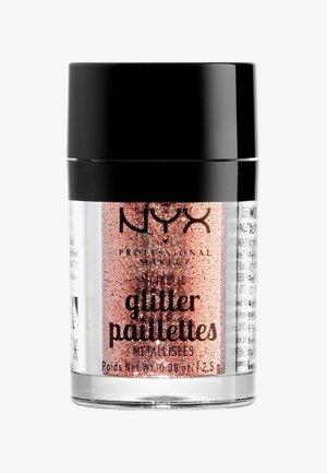 METALLIC GLITTER - Paillettes - 1 dubai bronze