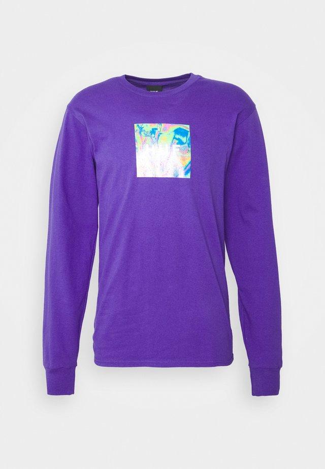 ACID HOUSE TEE - Maglietta a manica lunga - purple