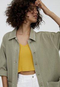 PULL&BEAR - IM WORKWEAR LOOK - Summer jacket - khaki - 3