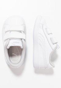 Puma - SMASH UNISEX - Dětské boty - white - 0