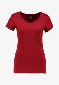 G-Star - EYBEN SLIM - T-shirt - bas - dry red - 3