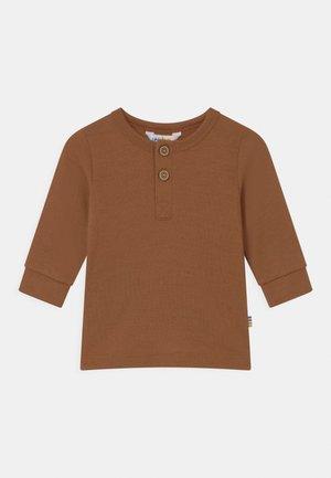 UNISEX - Long sleeved top - dark copper