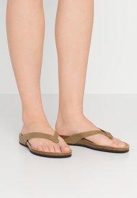 Scholl - TISTOIS - Sandalias de dedo - kaki - 0