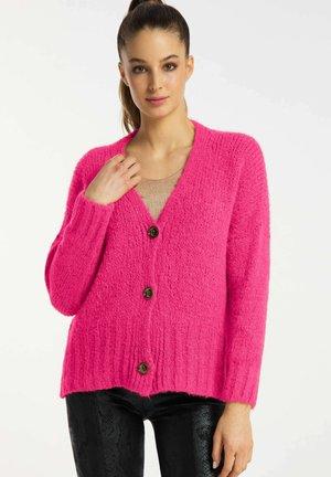 Cardigan - bright pink