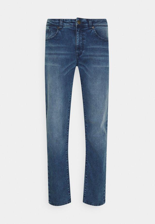 Jean droit - medium blue