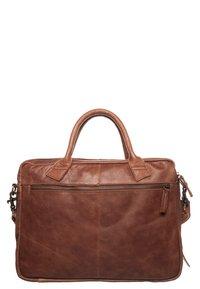 Cowboysbag - FAIRBANKS - Laptop bag - cognac - 1