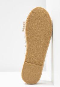 South Beach - STRIPE KNOT FRONT  - Sandály na platformě - natural - 6