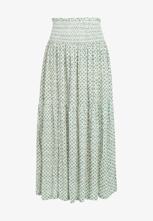 Pleated skirt - green with