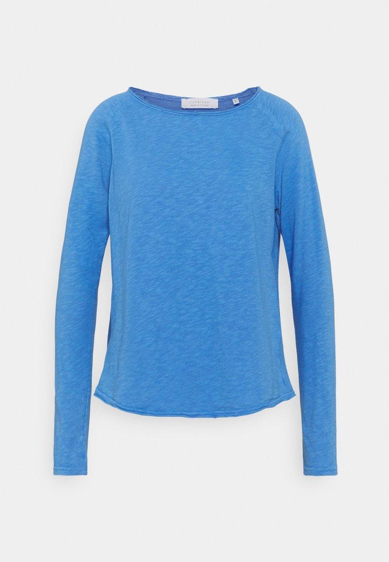 Rich & Royal - HEAVY LONGSLEEVE - Long sleeved top - sky blue