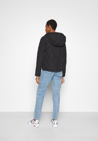 Noisy May Tall - NMFALCON JACKET TALL - Korte jassen - black - 2