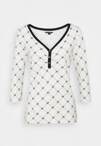 comma - T-shirt à manches longues - white - 0