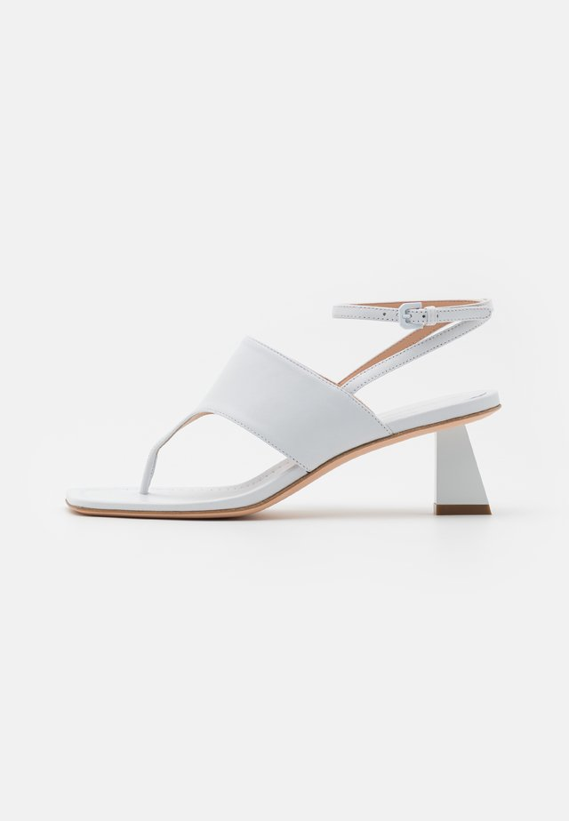 CAPRERA - T-bar sandals - bianco