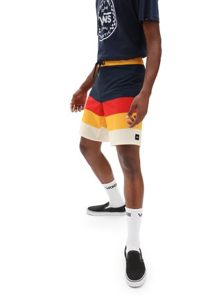 MN ERA BOARDSHORT 19 - Swimming shorts - dress blues/saffron